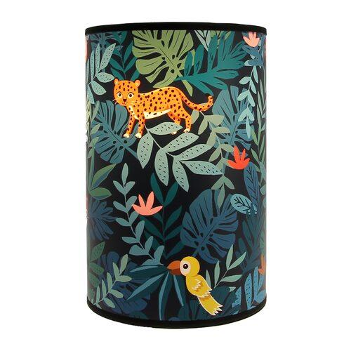 Lampe De Chevet Jungle Kids By E Rivassoux Coloris Multicolore 24 X