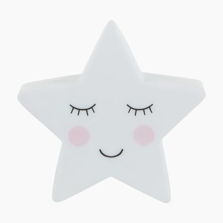 Veilleuse SWEET DREAMS STAR NIGHT LIGHT 14,5 x 14,5 cm