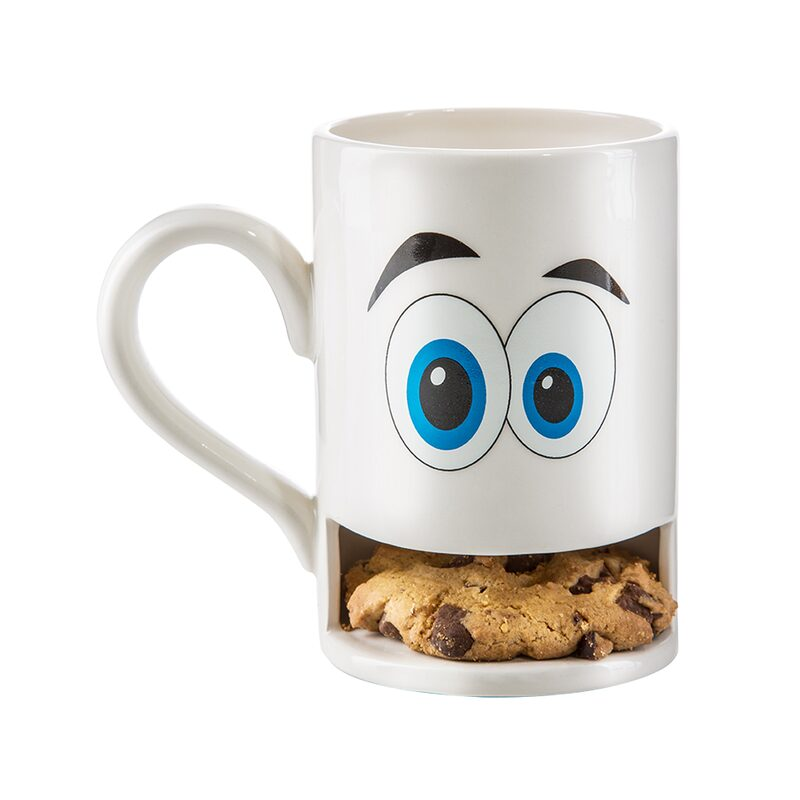 Mug MONSTER coloris blanc
