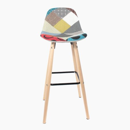 Tabouret HYLLA coloris multicolore