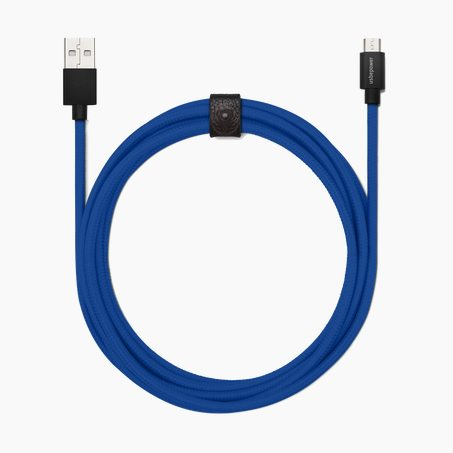 Charger FAB XXL MICRO USB X USBEPOWER colour blue