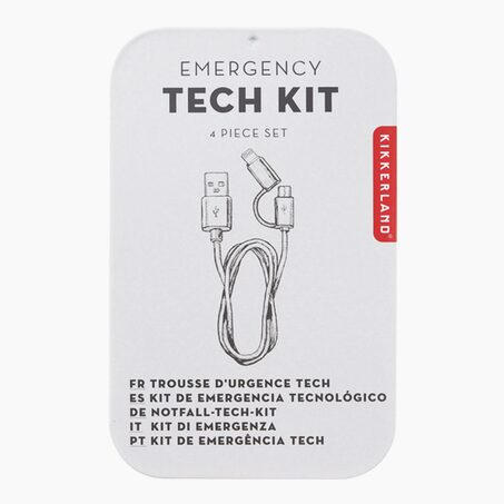 Charger EMERGENCY TECH KIT colour white