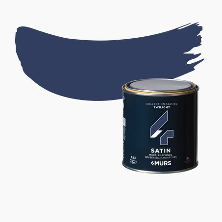 Peinture Finition SAPHYR Alkyde twilight Satiné 0,5 L
