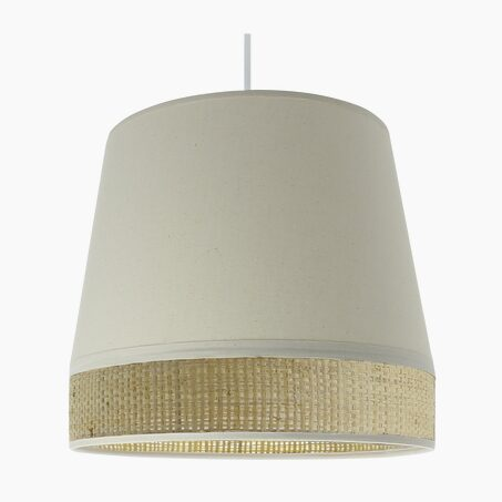 Pendant light MANON colour natural 25 x 29 cm