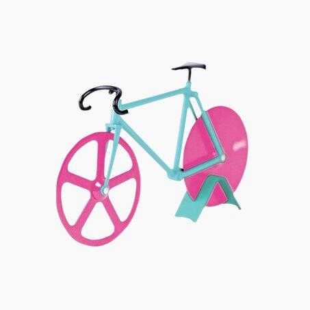 Pizza cutter WATERMELON FIXIE colour blue