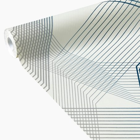 Papier Peint Intissé WEBLINES Coloris Blanc