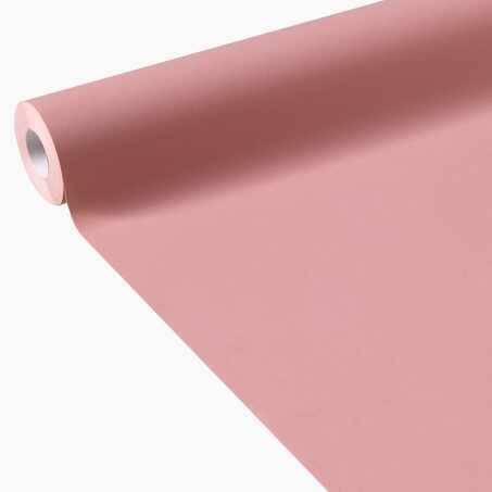 Non-woven wallpaper OPAL colour coral pink