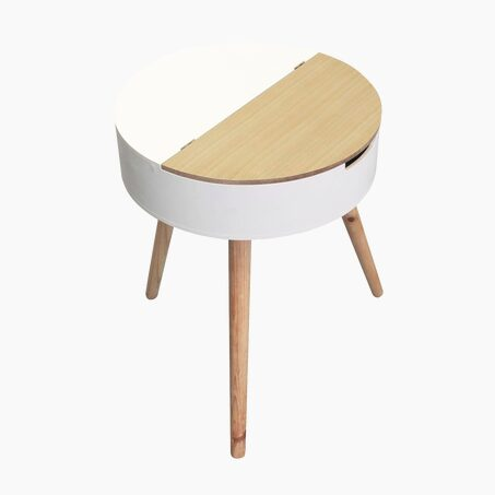 Table LOYD colour white