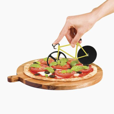 Pizza cutter BUMBLEBEE FIXIE colour yellow