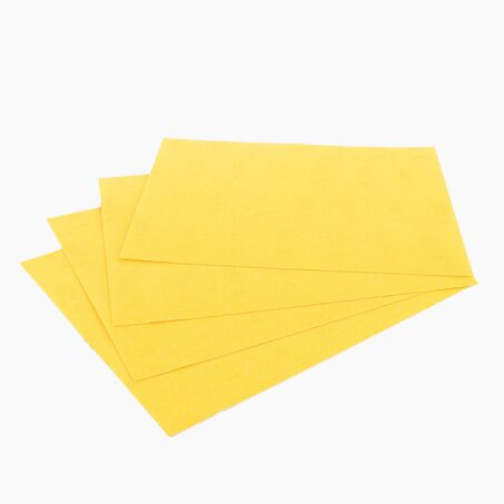 Lot de 4 feuilles abrasives grain fin
