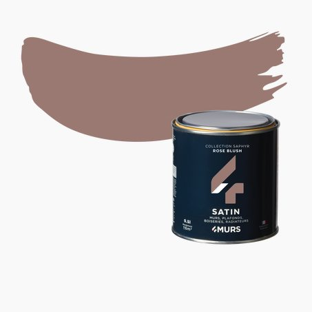 Finishing Paint SAPHYR Alkyd pink blush Satin 0,5 L