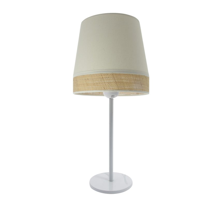 Lampe à poser MANON coloris naturel 45 x 19 cm