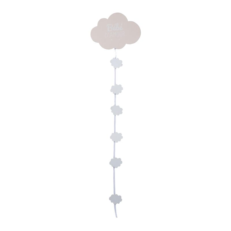 Guirlande clips photos SWEET CLOUD 19 x 74 cm