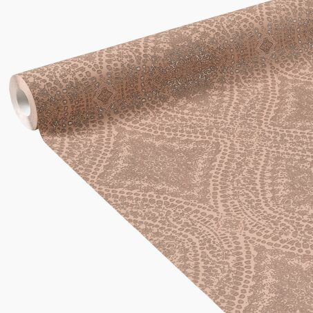 Non-woven wallpaper COACHELLA colour nude