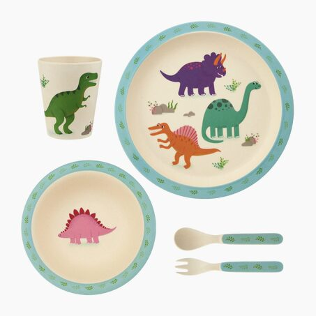 Set repas HAPPY DINO coloris Multicolore