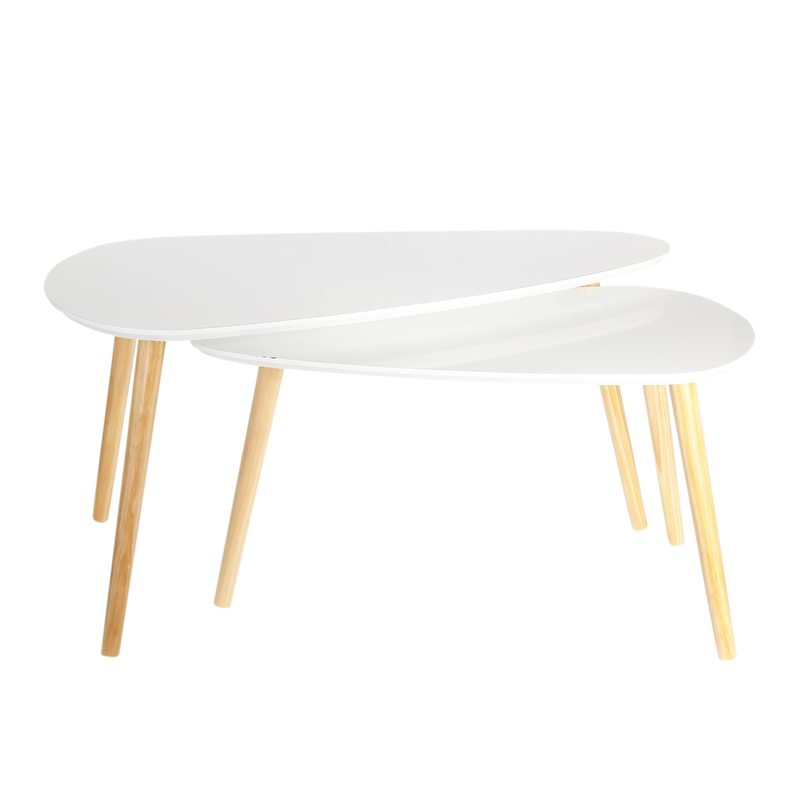 Table JANSSON coloris blanc