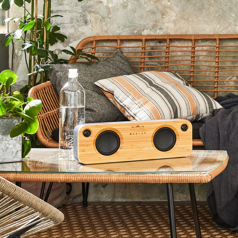 Enceinte GET TOGETHER X HOUSE OF MARLEY coloris brun