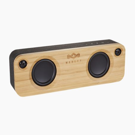 Speaker GET TOGETHER X HOUSE OF MARLEY colour brown