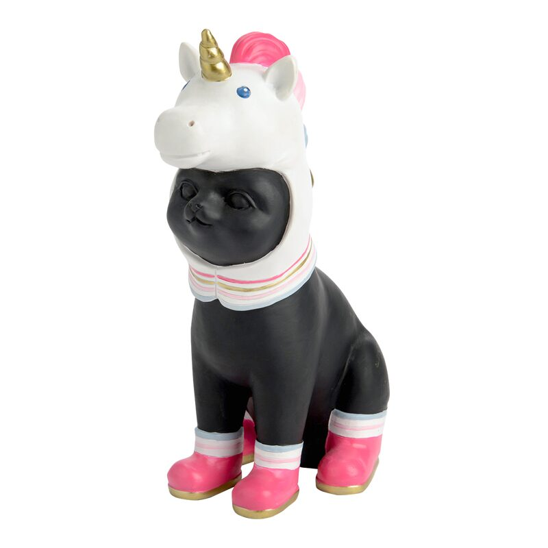 Figurine CHAT LICORNE PM