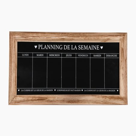 Semainier WEEK CALENDAR 67 x 32 cm