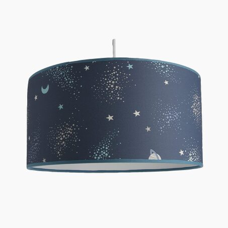 Suspension COSMIC coloris bleu 19 x 39 cm