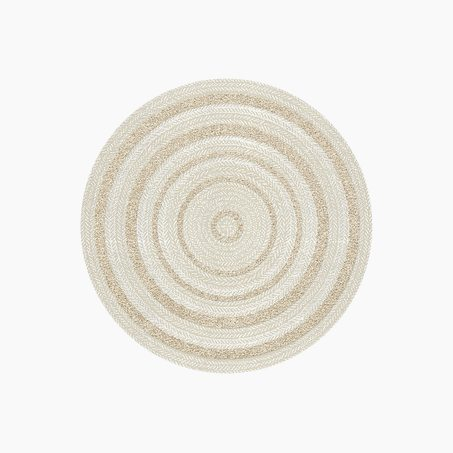 Tapis JONAS coloris beige naturel