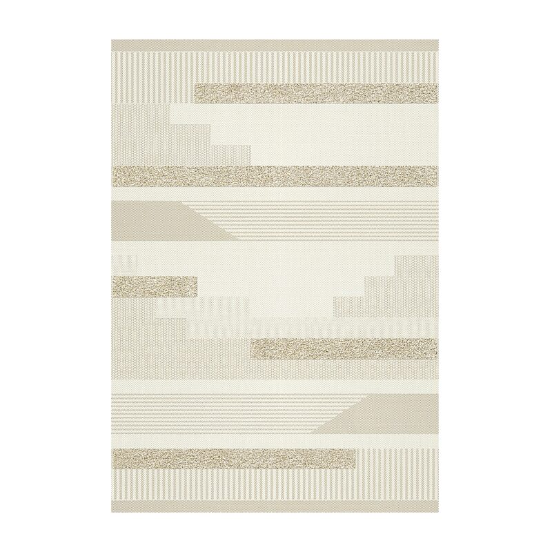 Tapis BATANGA coloris beige naturel