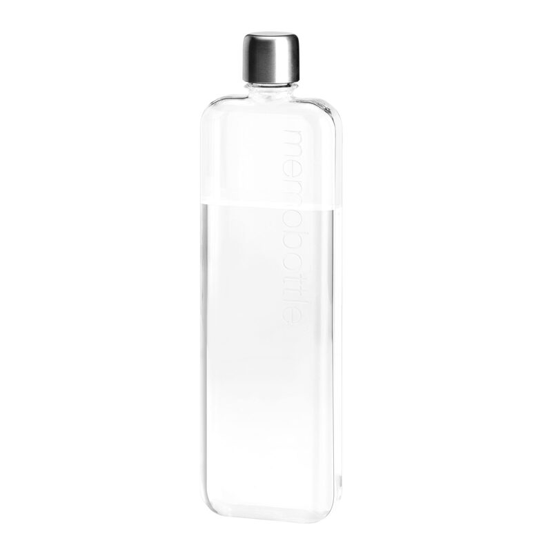 Bouteille SLIM MEMOBOTTLE coloris Transparent
