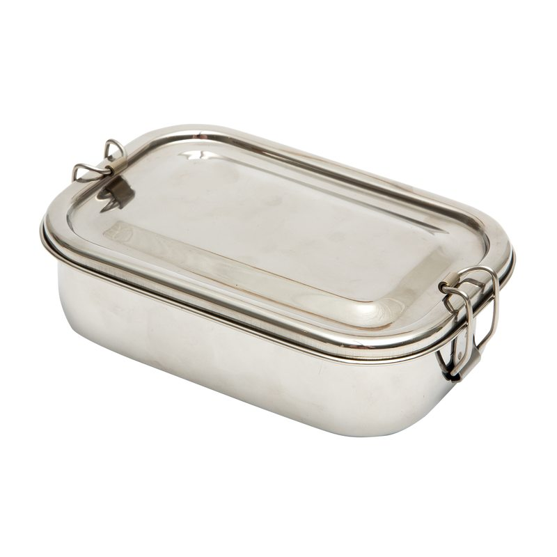 Lunch box TIFFIN TIN coloris gris
