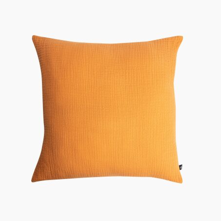 Cushion ANOKI colour ochre 40 x 40 cm