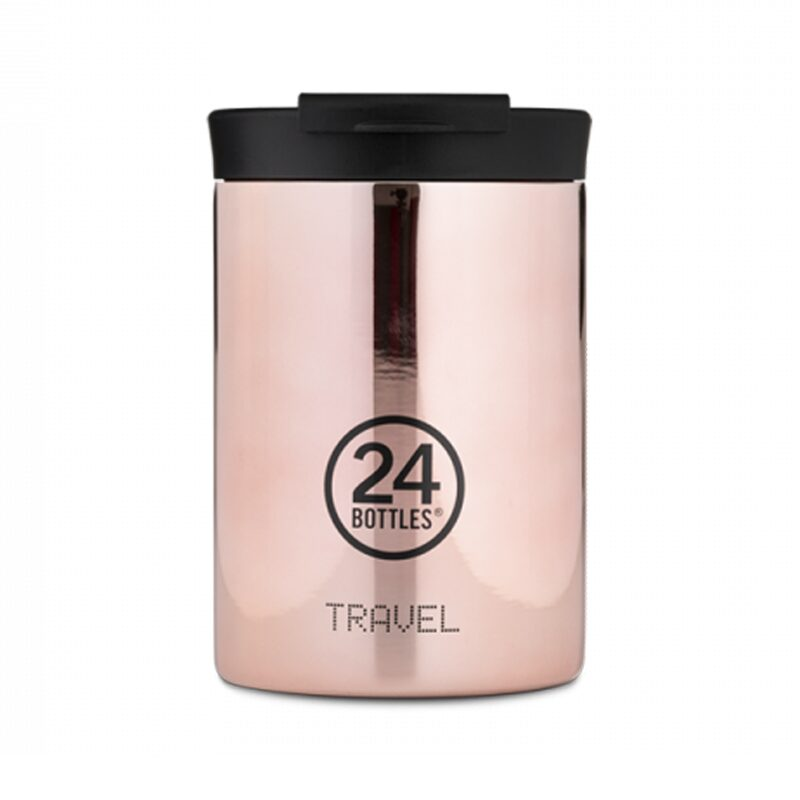 Bouteille TRAVEL ROSE GOLD coloris Rose Gold