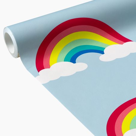 Papier peint intissé RAINBOW IN THE SKY coloris multicolore