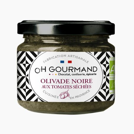 Tartinade OLIVADE NOIRE AUX TOMATES SECHEES BIO
