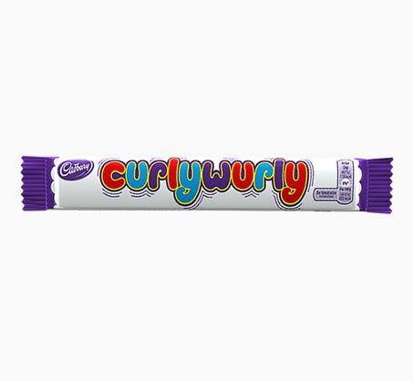 Biscuits CADBURY CURLY WURLY
