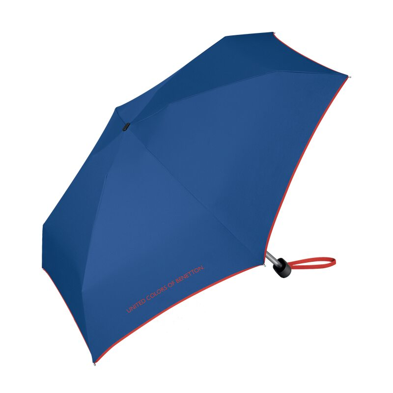 Parapluie ULTRA MINI FLAT BENETTON BLEU